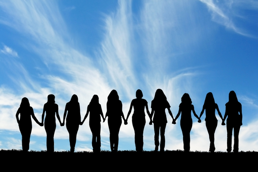 10 Woman Holding Hands
